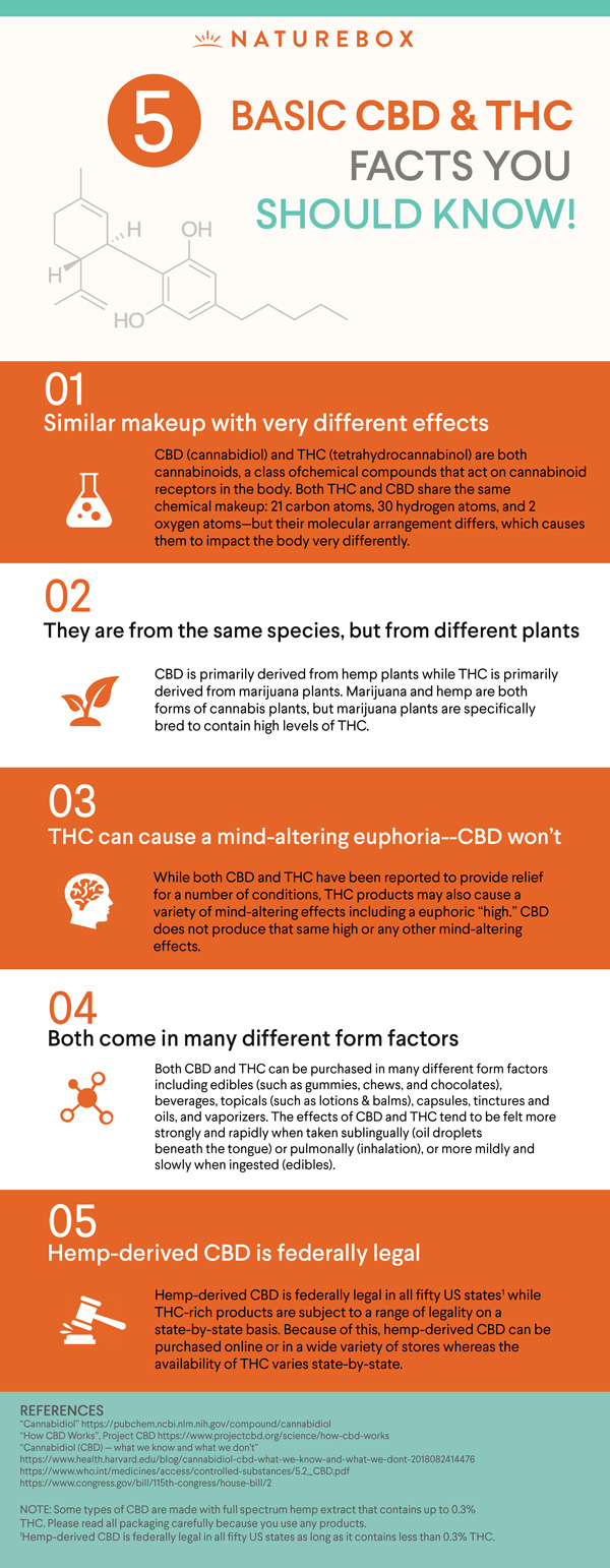CBD Facts Infographic