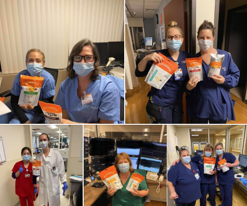 NatureBox Snack Delivery to Frontline Heroes at Sierra Nevada Memorial Hospital